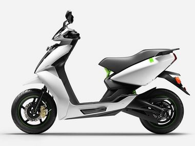 Bengaluru-based Ather Energy to launch its first smart electric scooter in India on 5 June