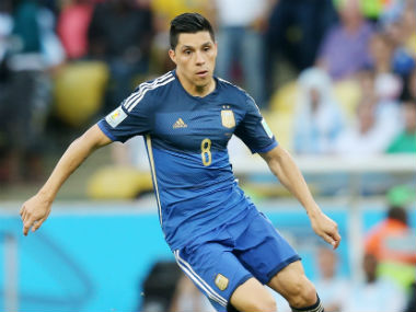 File image of Argentina's Enzo Perez. Reuters