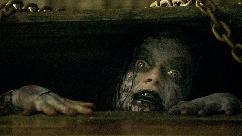 A still from Evil Dead (2013). Image via Facebook