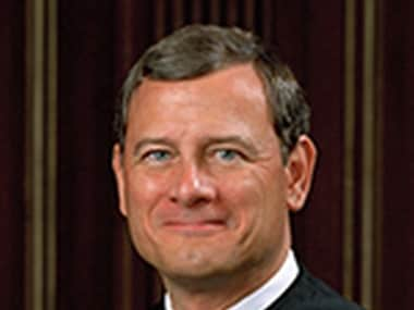 File image of Supreme Court Chief Justice John Roberts. Image courtesy: Supremecourt.gov