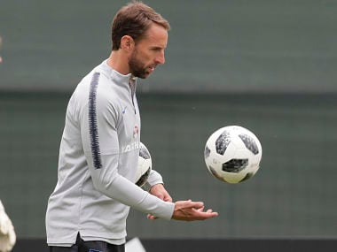 FIFA World Cup 2018: England manager Gareth Southgate dislocates shoulder while running