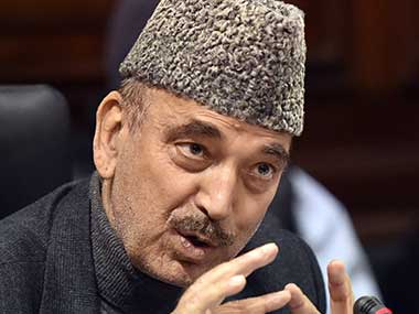 Anti-terror operations in Kashmir under BJP caused more civilian deaths than of militants, says Ghulam Nabi Azad