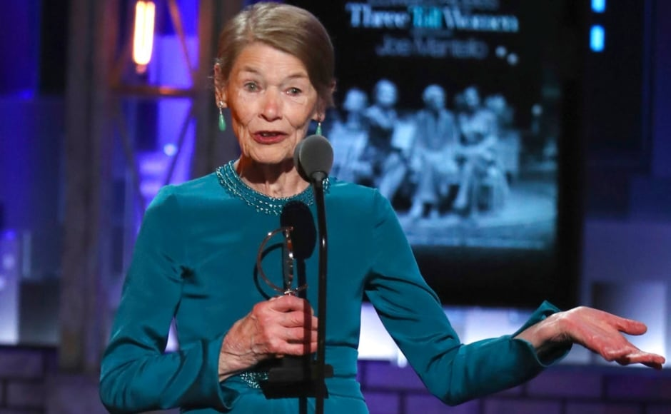 Glenda Jackson won the Tony for Leading Actress in a Play for Edward Albee's Three Tall Women. AP/ Michael Zorn