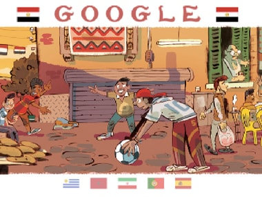 Google Doodle World Cup Day 2