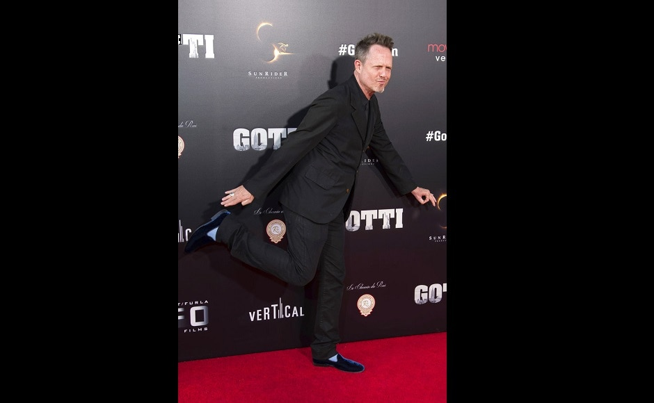 Dean Winters at the premiere of Gotti. The Associated Press/ Charles Skyes