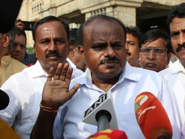 File image of Karnataka chief minister HD Kumaraswamy. AP