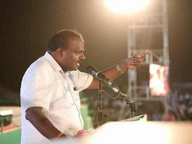 File photo of HD Kumaraswamy. Twitter@JDSforchange