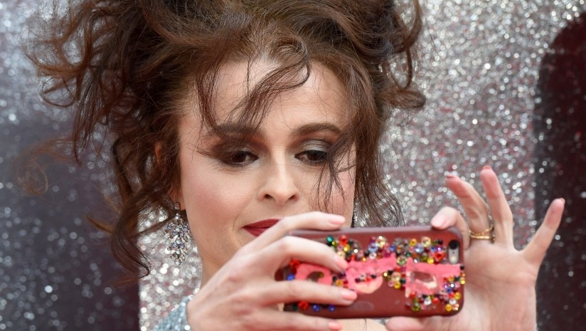 Helena Bonham Carter at the Ocean's 8 premiere in London. Agence France Presse/ Anthony Harvey