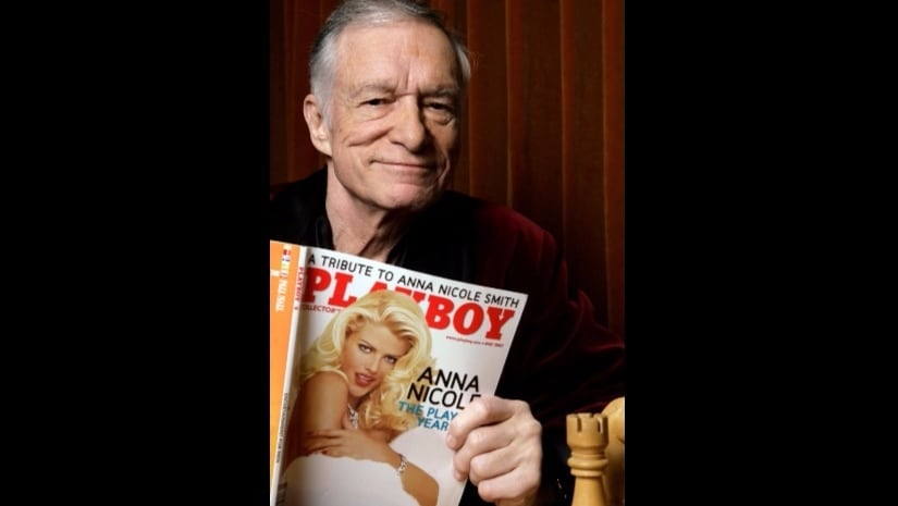 File image of Hugh Hefner. AP