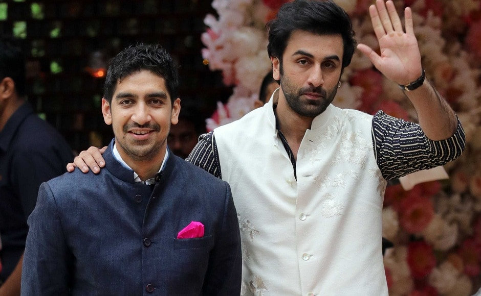 Director Ayan Mukerji arrived with Ranbir Kapoor to partake in the celebrations. Firstpost Photo/Sachin Gokhale