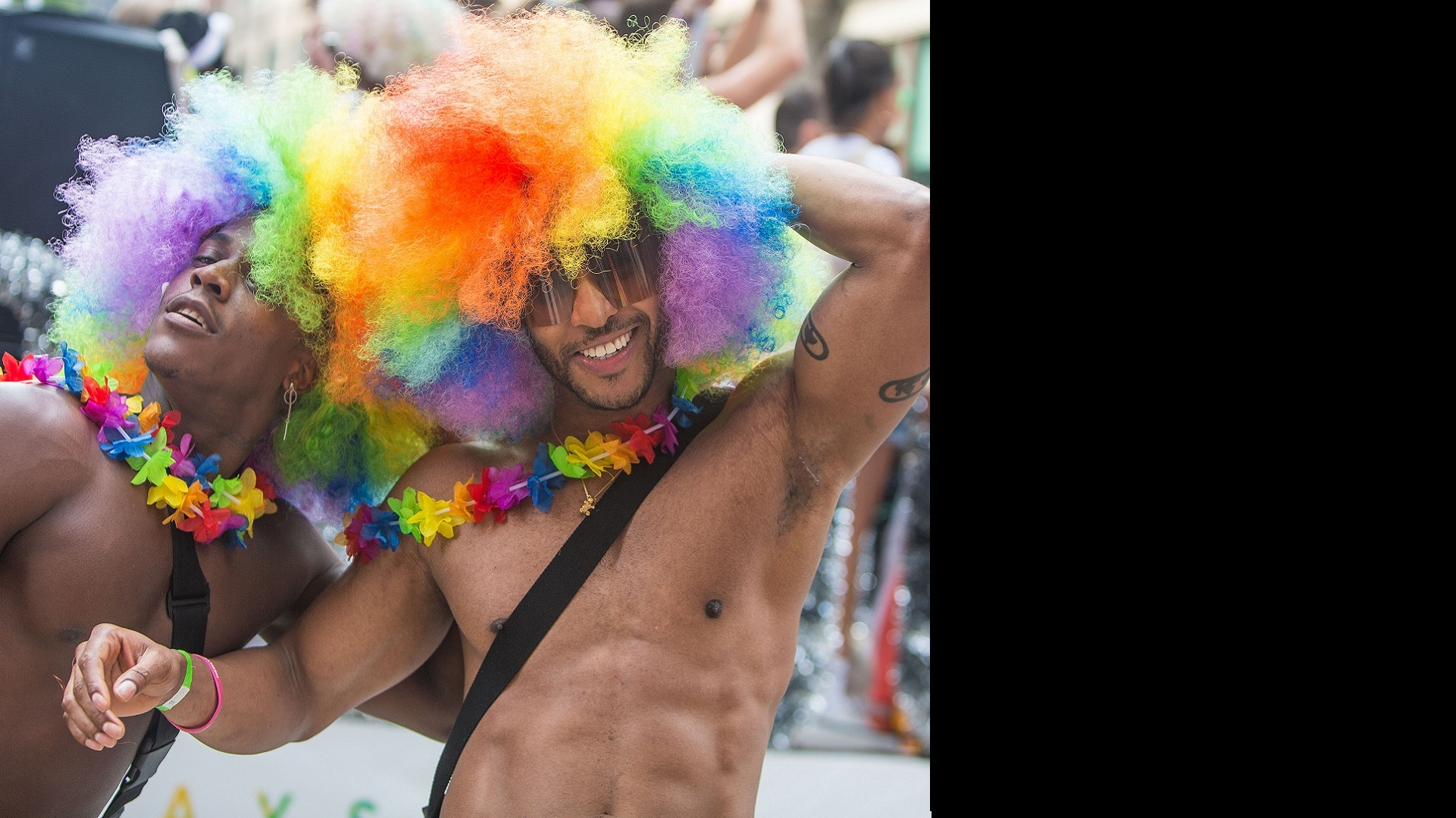 At the 2018 New York Pride Parade, glimpses of celebration, defiance and love