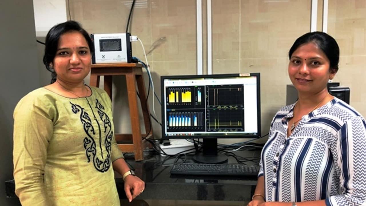 Dr Shweta N Shah (right) and Darshna D Jagiwala. Image courtesy: Dinesh C Sharma
