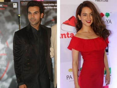 Rajkummar Rao reportedly confirmed as male lead opposite Kangana Ranaut in Anurag Basu's upcoming film Imali