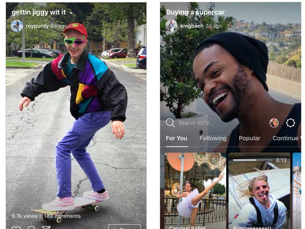 Instagrams IGTV has its sights set on YouTube for attracting content creators