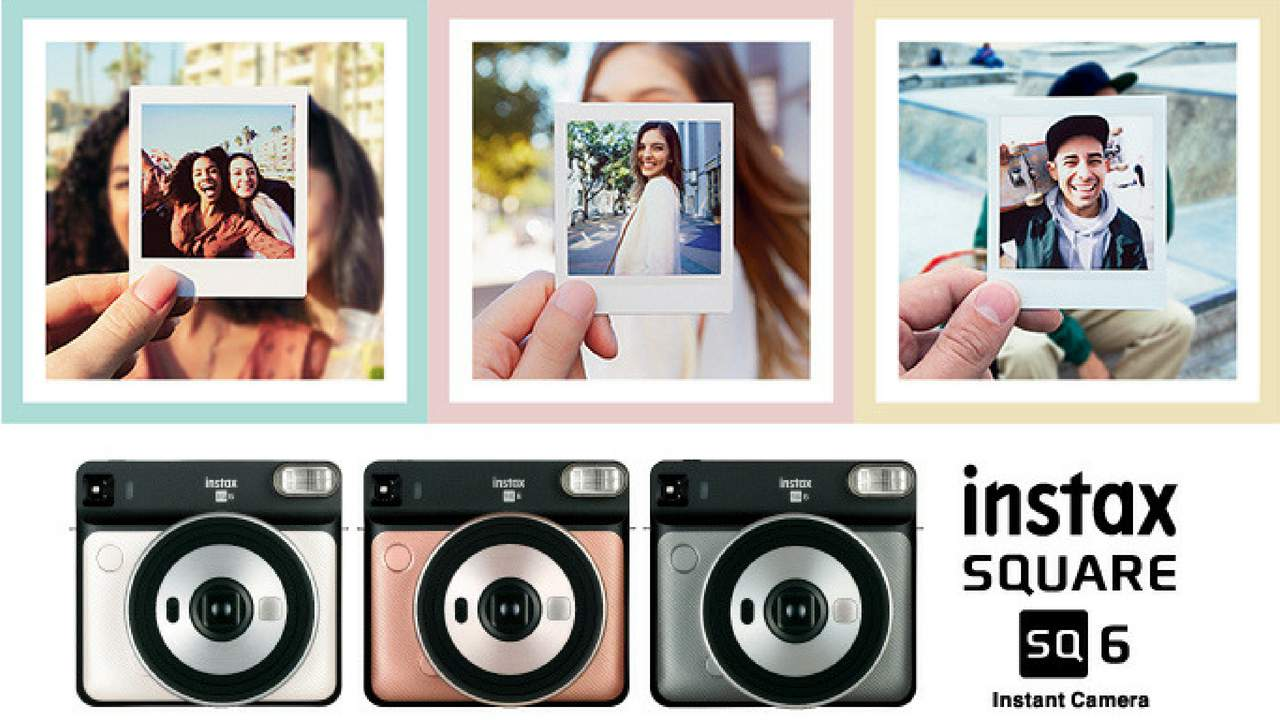 Fujifilm India launches its new analog instant camera the instax SQUARE SQ6