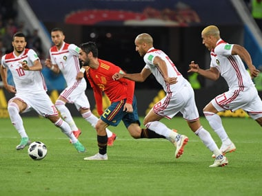 Isco grabbed the game by the scruff of the neck, helping Spain draw 2-2 against Morocco and finish top of the group. AFP