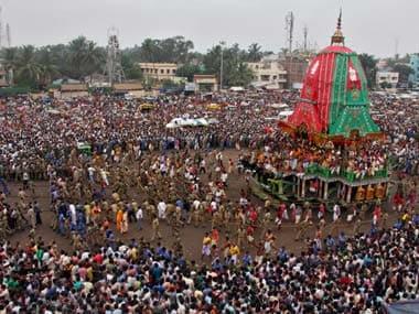 File image of Jagannath Rath Yatra. Reuters