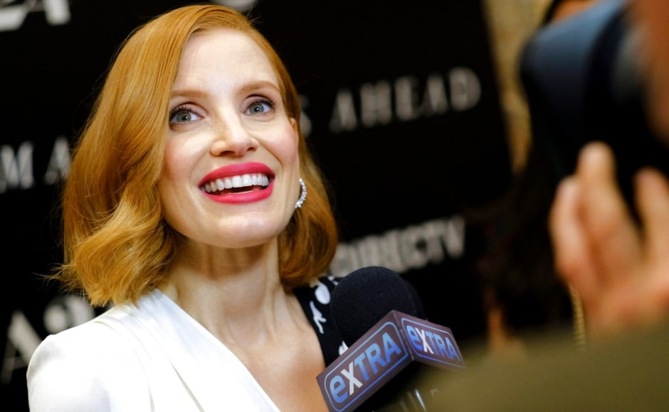 Jessica Chastain attends a special screening of her film Woman Walks Ahead at The Whitby Hotel in New York on 26 June, 2018. The Associated Press/ Evan Agostini