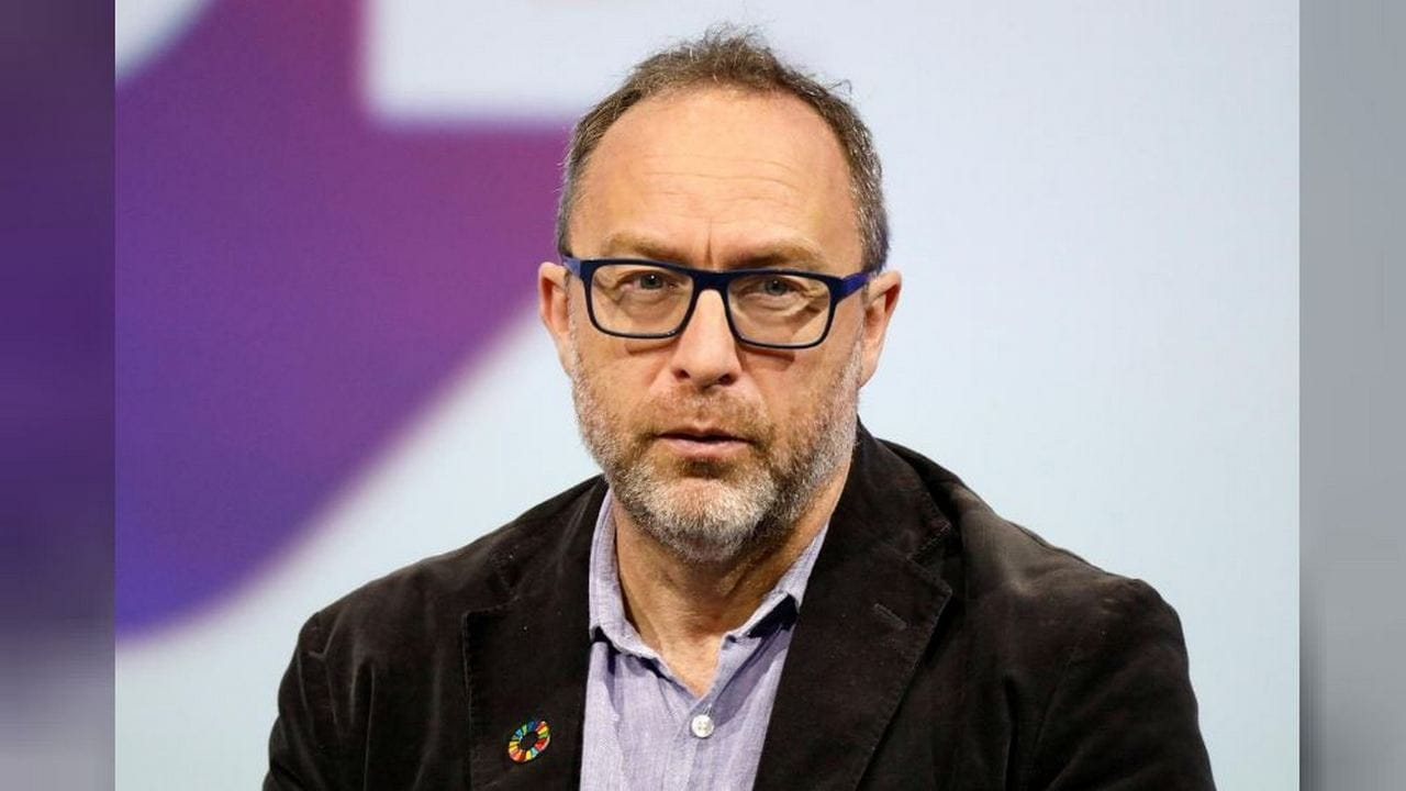 File photo of Jimmy Wales, founder of Wikipedia. Image: Reuters