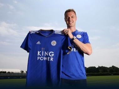 Leicester City have signed Jonny Evans from Championship side West Bromwich Albion. Image courtesy: Twitter @LCFC