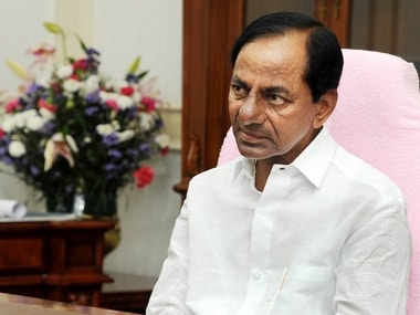File image of Telangana chief minister K Chandrashekhar Rao. News18