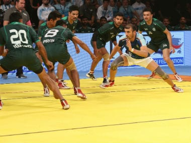 India once again put up a dominating show to prevail over Pakistan 41-17 for their second successive victory against their arch-rivals.