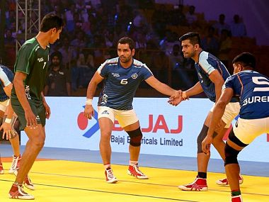 Kabaddi Masters Dubai 2018, LIVE India vs Pakistan, Match 8 at Dubai: Second half begins