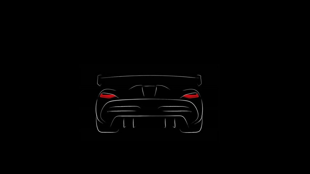 Teaser from Koenigsegg. Image Credits Overdrive