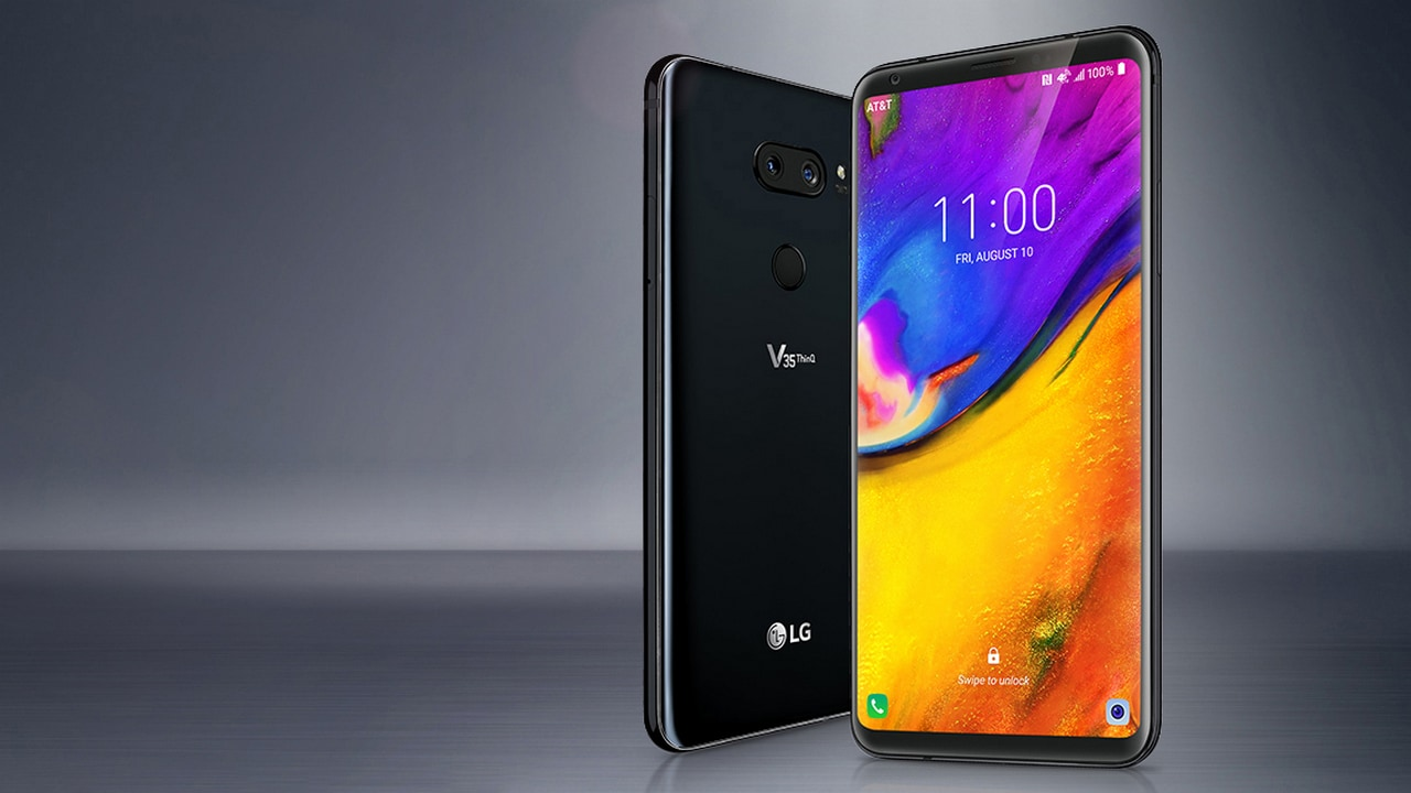 The LG V35 ThinQ. Image; LG Newsroom