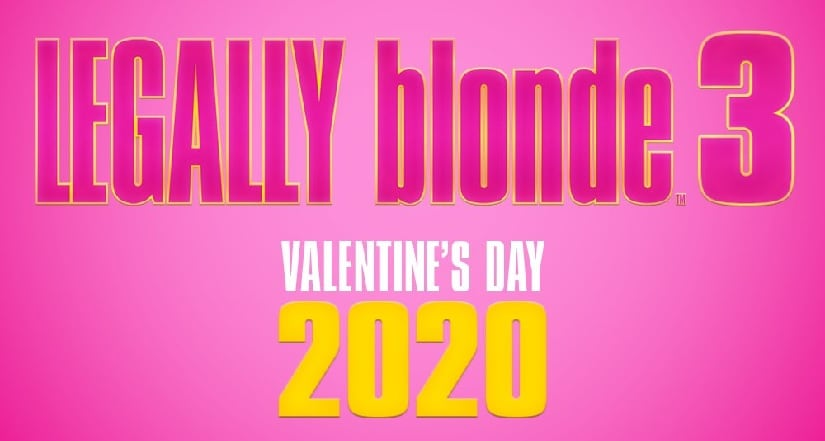 Legally Blonde 3 poster. Image via Twitter