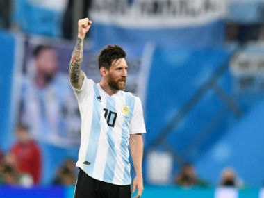 Barcelona star Lionel Messi will be key to Argentina's chances against France. AFP