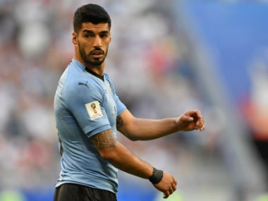 Luis Suarez added that he was feeling much better than he was ahead of Uruguay's opening game. AFP