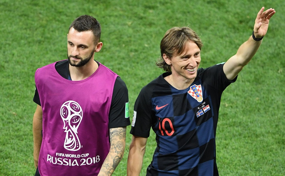 Croatia have stormed into the knockout stages of the World Cup after winning all of their group stage games. AFP