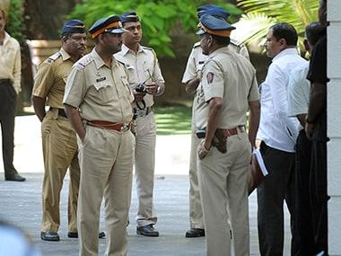 File image of Maharashtra police. AFP