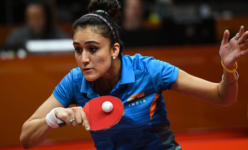 Manika Batra's unique mixed rubber, racqet-twiddling technique was quite effective throughout the 2018 Commonwealth Games. AFP