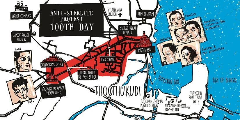 Anti-Sterlite protest of 22 May: A story of rage and death in Thoothukudi, told through ink