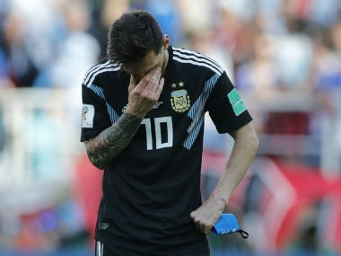 Lionel Messi misses penalty as Iceland hold Argentina to 1-1 draw; France, Denmark, Croatia win