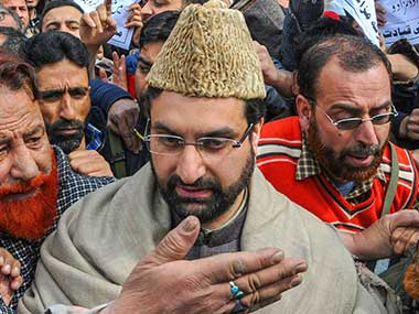 Mirwaiz Umar Farooq says youths have every right to question Kashmiri separatist leaders