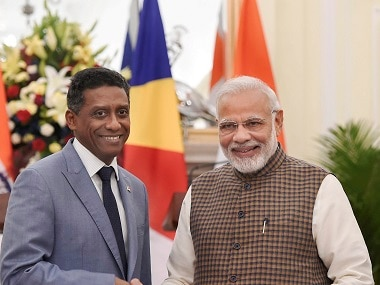 Seychelles president in India: Danny Faure holds frank talks with Narendra Modi, agrees to work on Assumption Island deal