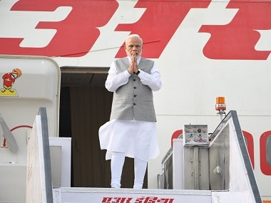 File image of Prime Minister Narendra Modi heading to Qingdao for SCO summit. Twitter @MEAIndia