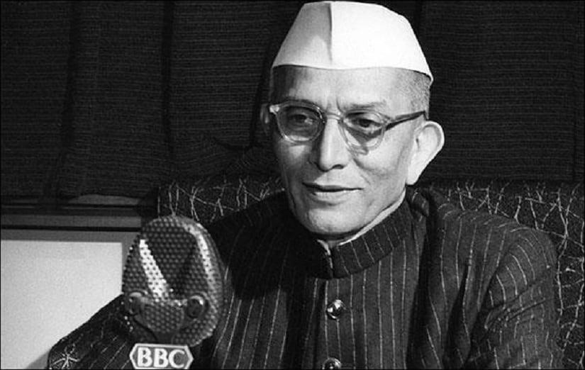 Morarji Desai. Facebook