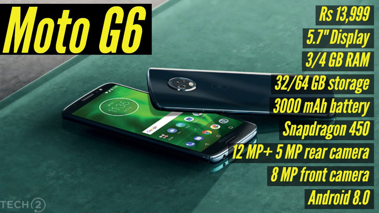 The Moto G6 is a good device, but it's not good enough to topple the competition.
