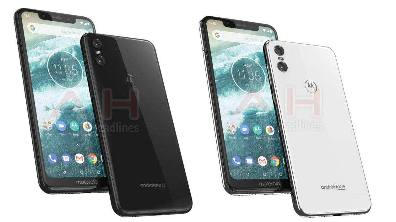 Motorola One is expected to come in two colour variants. Android Headlines.