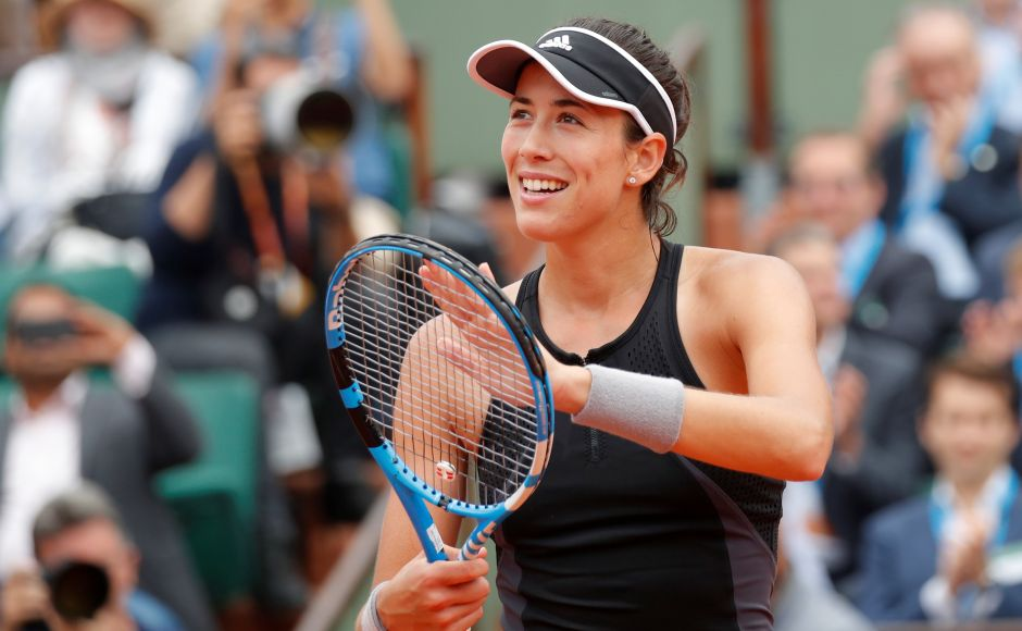 Garbine Muguruza, who was the champion in Paris in 2016, swept aside the Russian 6-2, 6-1 in just an hour and 10 minutes. Reuters