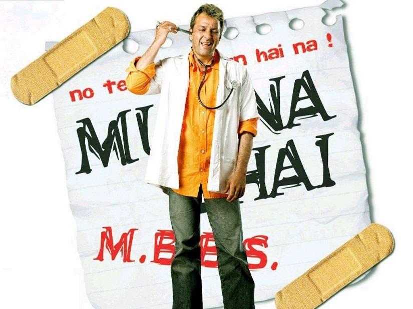 Poster of Munna Bhai MBBS. Facebook