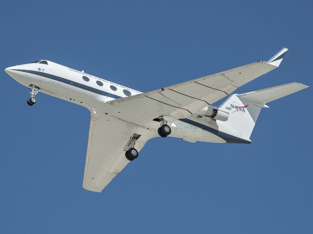 Representational image NASA aircraft. NASA