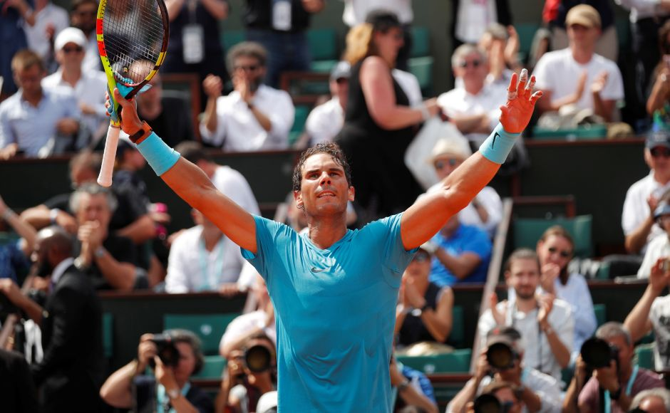Nadal, Sharapova eye French Open semi-finals