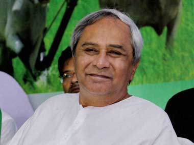 File image of Chief Minister of Orissa, Naveen Patnaik PTI