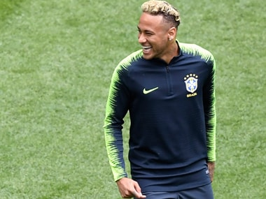 Neymar will start in spite of being injured in a training session last week. AFP