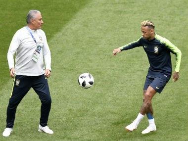 02bdb67dd FIFA World Cup 2018  Brazil boss Tite says he won t sacrifice Neymar s  genius for team s sake against Costa Rica